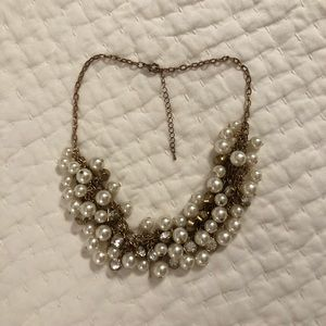 Francesca's pearl statement necklace
